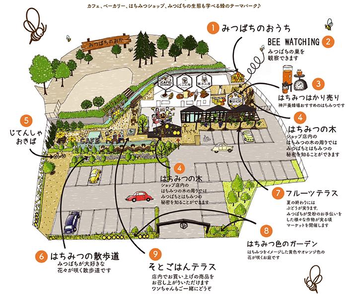 神戸養蜂場 マップ